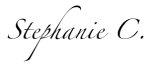RISE Stephanie C signature